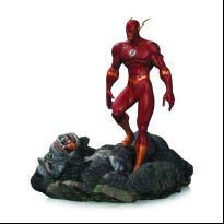 The Flash Vs Gorilla Grodd (Patina) Mini Statue