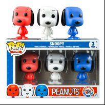 Peanuts - Snoopy 3-Pack