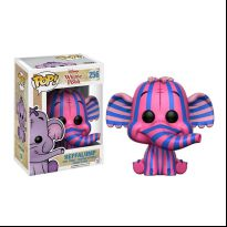 Winnie The Pooh - Heffalump Pink and Blue