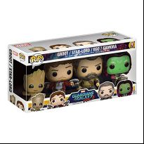 Guardians of the Galaxy vol. 2 - Groot, Star Lord, Ego, Gamora