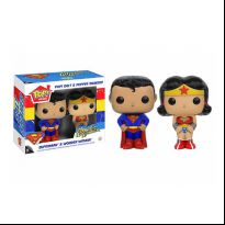 Salt and Pepper Set - Superman and Wonder Woman