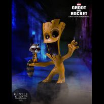 Guardians of the Galaxy Groot and Rocket Animated