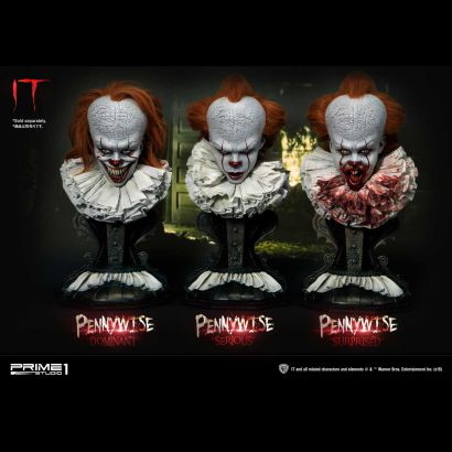 Pennywise Serious, Dominant, Surprised Bust 1/2