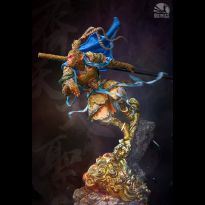 Monkey King Blue Ver 1/4