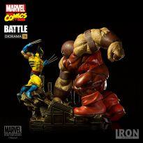 Wolverine Vs Juggernaut 1/6
