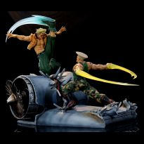 Guile VS Charlie Nash 1/6
