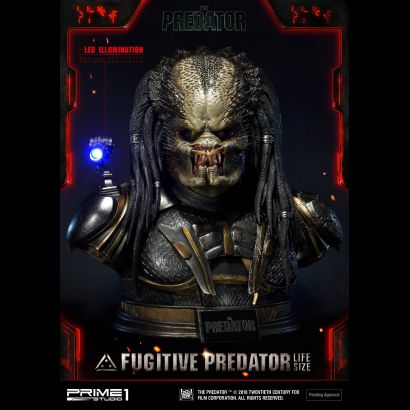 Fugitive Predator Life size Bust (2018)