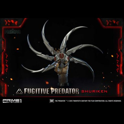 Fugitive Predator Shuriken Bust (The Predator 2018)