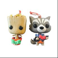 Guardians of the Galaxy - Christmas Groot & Rocket Raccoon
