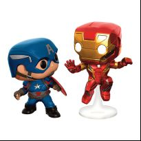 Captain America - Civil War - Captain America and Iron Man