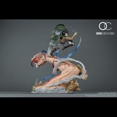 Levi VS Female Titan (Attack on Titan) 1/6