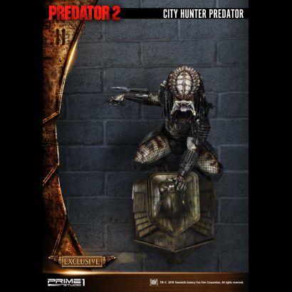 City Hunter Predator (Predator 2) Exc 1/4