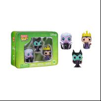 Disney 3-Pack Tin - Classic Maleficent, Evil Queen, and Ursula