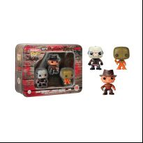 Horror 3 Pack Tin - Jason Voorhees, Freddy Kruger, and Sam