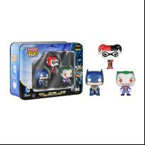 DC 3-Pack Tin - Batman, Harley & Joker