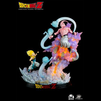 Gotenks vs Majin Buu (Dragon Ball Z) 1/6