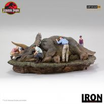 Triceratops Diorama 1/10 (Jurassic park)