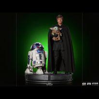 Luke Skywalker, R2-D2 and Grogu (The Mandalorian) /14