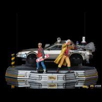 DeLorean Full Set (Back to the Future II) 1/10