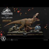 Tyrannosaurus Rex & Carnotaurus (Jurassic World Fallen Kingdom) Deluxe Edt 1/15