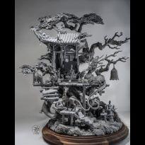 Liang Ku Rong Si Temple (Grey Kit)