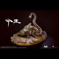 Rock python vs Nile crocodile 1/4