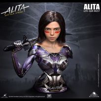 Alita Lifesize Bust