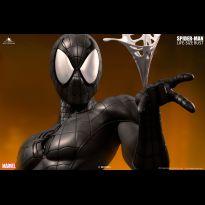 Spiderman Comic Lifesize Bust Black Variant