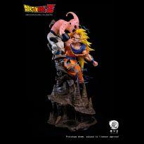 Kid Buu vs Goku SS3 1/6