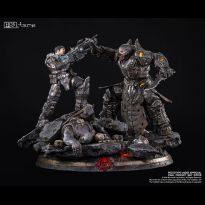 Marcus vs General RAAM (Gears of War) 1/6