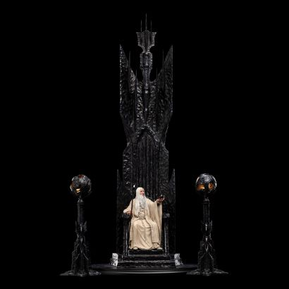Saruman The White on Throne (Lord of the Ring) 1/6