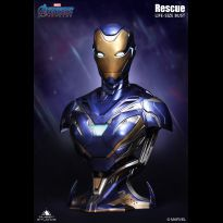 Iron Man Mark 49 Rescue Life Size Bust