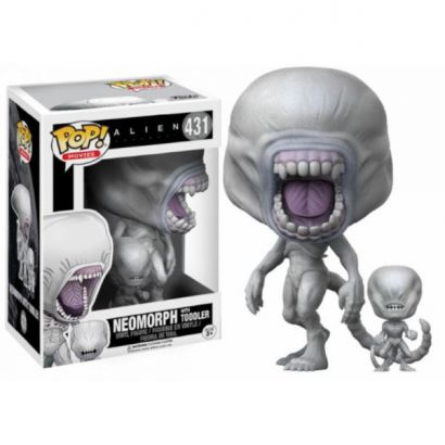 Alien Covenant Neomorph with Toddler